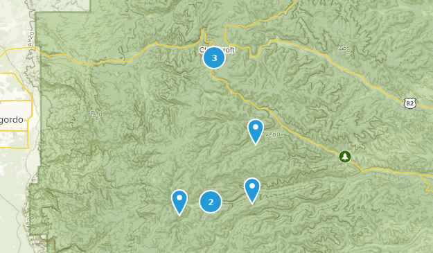 Best Mountain Biking Trails near Cloudcroft, New Mexico ...