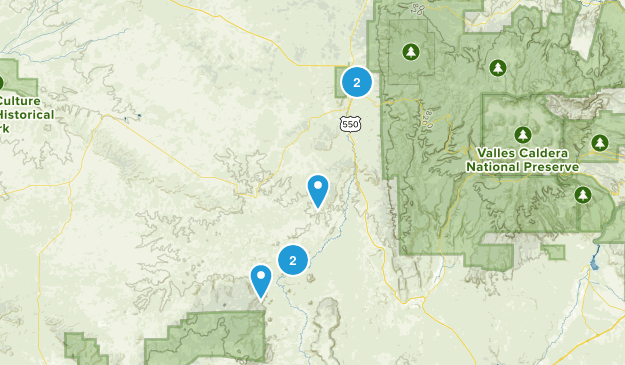 Cuba, New Mexico Birding Map