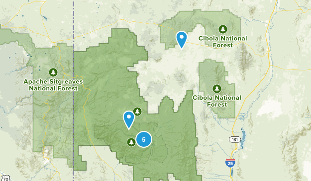 Datil, New Mexico Nature Trips Map