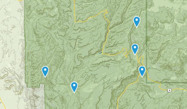 Jemez Pueblo, New Mexico Views Map