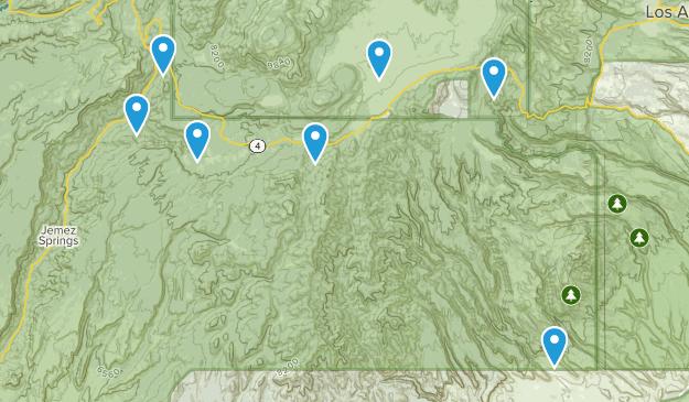 Jemez Springs, New Mexico Views Map