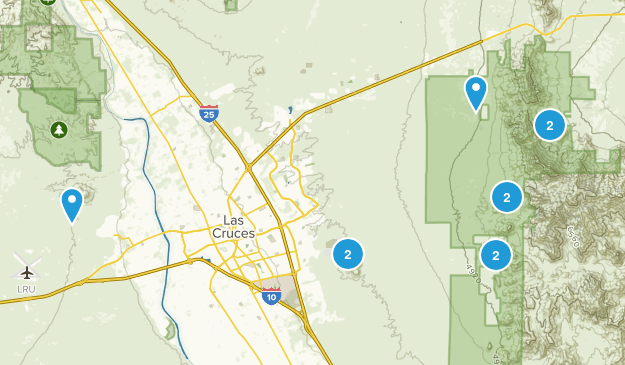 Las Cruces, New Mexico Kid Friendly Map