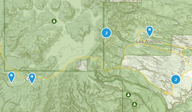 Best Mountain Biking Trails near Los Alamos, New Mexico ...