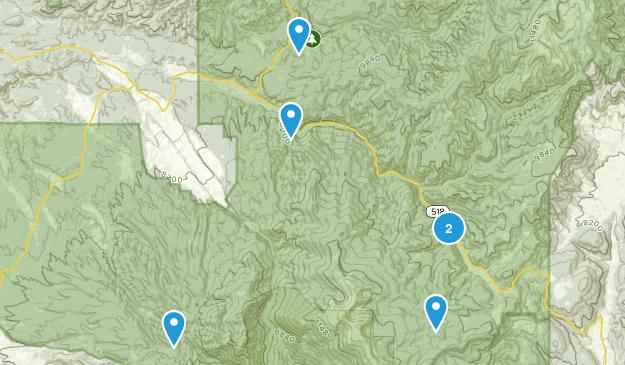 Penasco, New Mexico Hiking Map