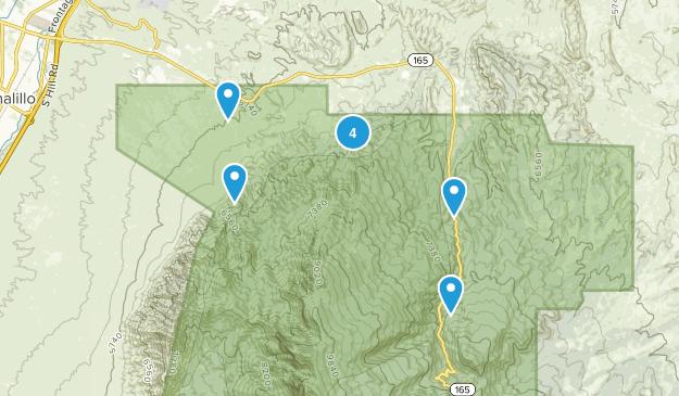 Placitas, New Mexico Walking Map