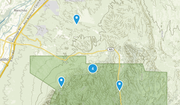 Placitas, New Mexico Wildlife Map