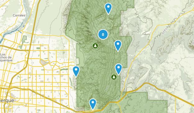 Sandia Park, New Mexico Wild Flowers Map