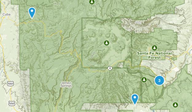 Santo Domingo Pueblo, New Mexico Nature Trips Map