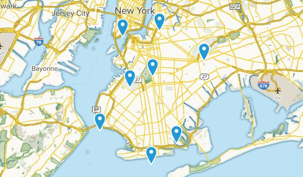 Brooklyn, New York Kid Friendly Map