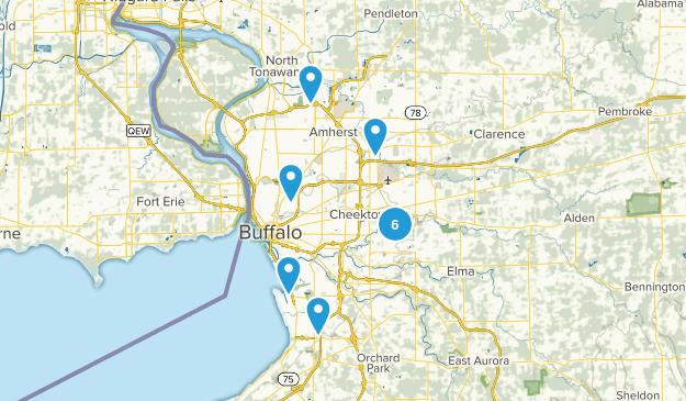 Buffalo, New York Walking Map