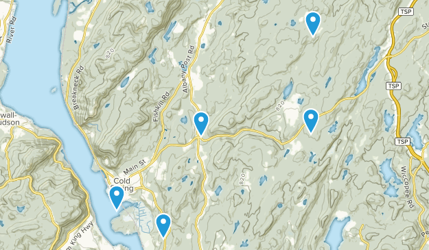 Cold Spring, New York Kid Friendly Map