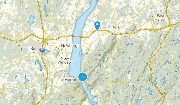 Fishkill, New York Hiking Map
