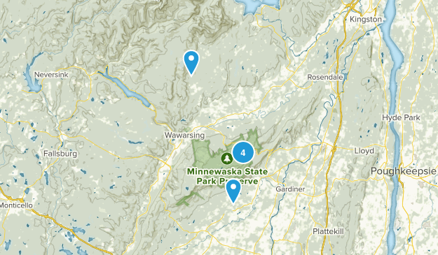 Kerhonkson, New York Birding Map