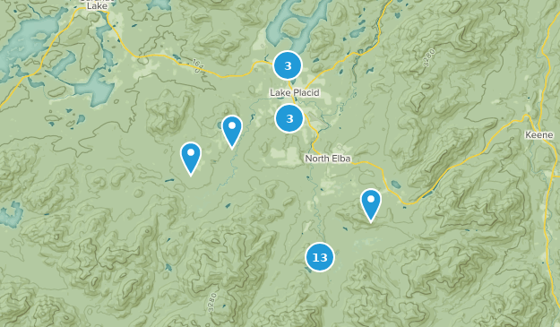Lake Placid New York Map.Best Trail Running Trails Near Lake Placid New York Alltrails