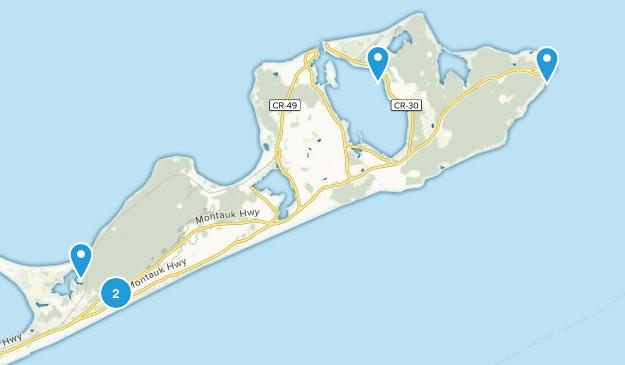 Montauk, New York Wildlife Map