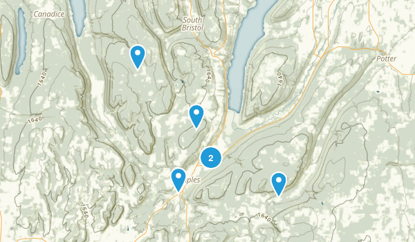 Naples, New York Nature Trips Map