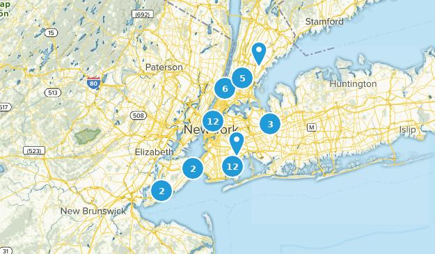 New York City, New York Walking Map