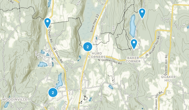 Pawling, New York Forest Map