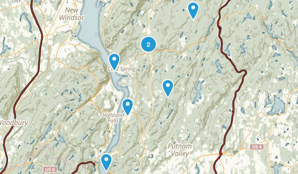 Philipstown, New York Hiking Map