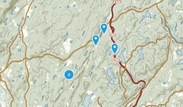 Putnam Valley, New York Hiking Map