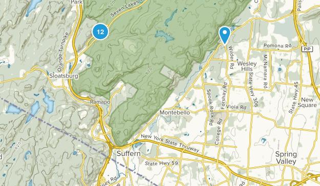 Ramapo, New York Trail Running Map