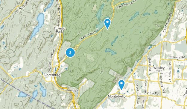 Sloatsburg, New York Wildlife Map