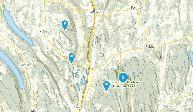 Tully, New York Birding Map