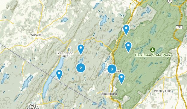 Tuxedo Park, New York Nature Trips Map