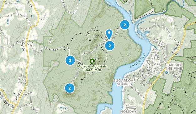 Albemarle, North Carolina Views Map
