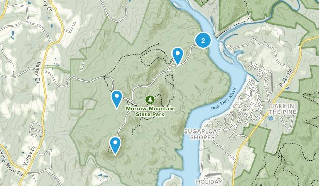 Albemarle, North Carolina Wild Flowers Map