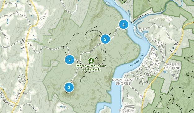 Albemarle, North Carolina Wildlife Map