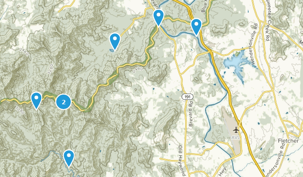 Arden, North Carolina Bird Watching Map