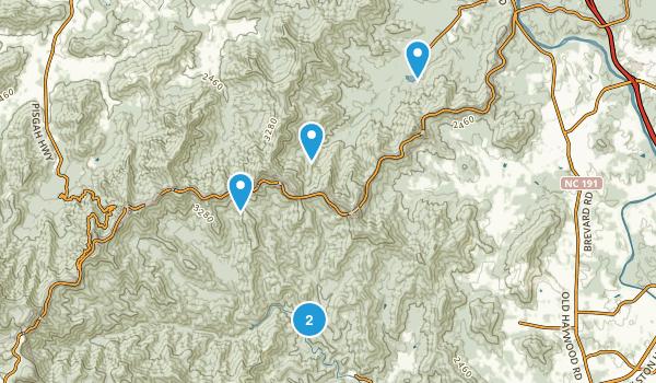 Arden, North Carolina Mountain Biking Map