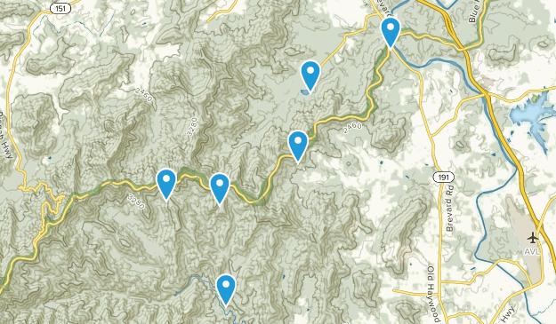 Arden, North Carolina Nature Trips Map