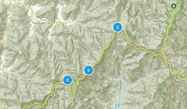 Barnardsville, North Carolina Walking Map