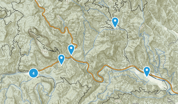 Best Waterfall Trails Near Brevard North Carolina Photos - Brevward map of us