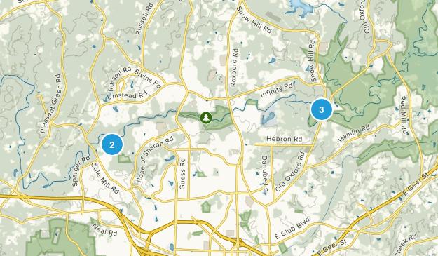 Havenhill, North Carolina Trail Running Map