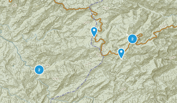 McGuires, North Carolina Walking Map