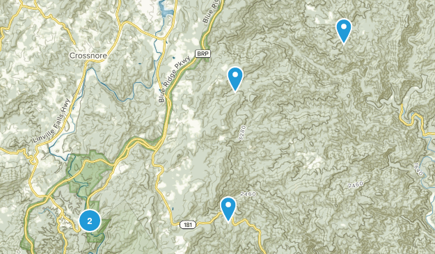 Newland, North Carolina Walking Map