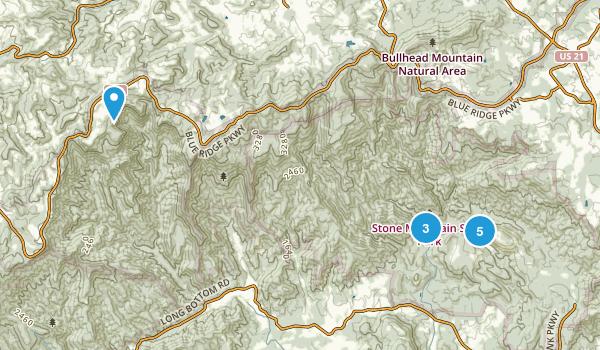 Traphill, North Carolina Birding Map