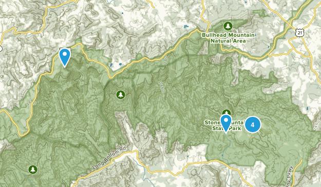 Traphill, North Carolina Wildlife Map