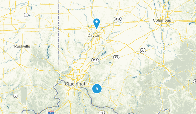 Bethel, Ohio Nature Trips Map