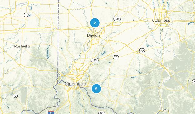 Bethel, Ohio Walking Map