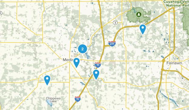 Medina, Ohio Forest Map