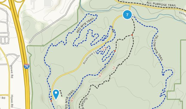 Strongsville, Ohio Hiking Map