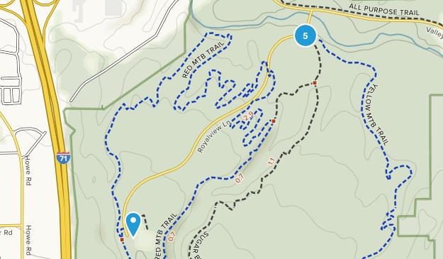 Strongsville, Ohio Walking Map