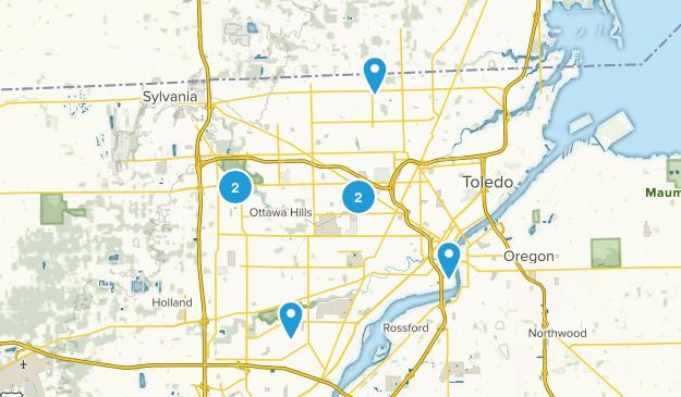 Toledo, Ohio Birding Map