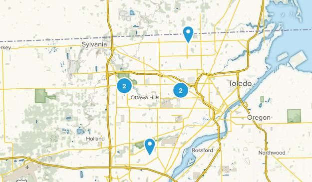 Toledo, Ohio Views Map