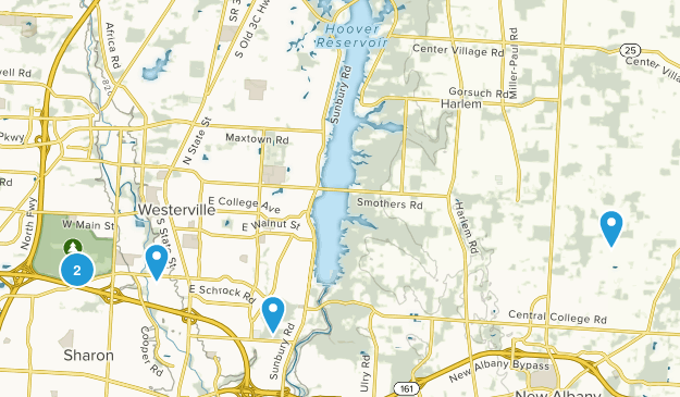 Westerville, Ohio Kid Friendly Map