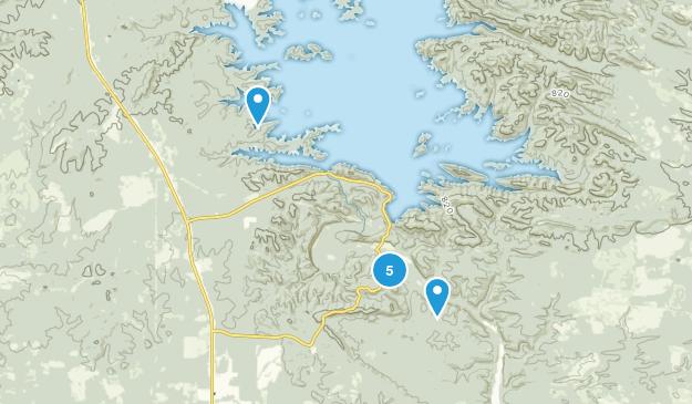 Broken Bow, Oklahoma Birding Map